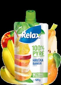 Relax Pyré 100% HRUŠKA-BANAN 12*120