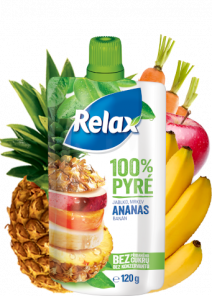 Relax Pyré 100% JABLKO-ANANAS12*120