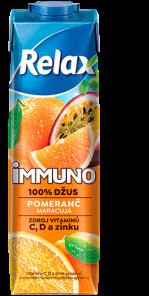 Relax Immuno 100% POMERANČ 1L