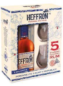 Rum Heffron Dárk.Balení 38%  0,5L