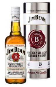 Jim Beam Plech 40%  0,7L
