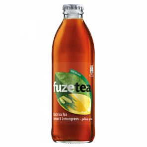 FUZE TEA CITRON TRÁVA 24*0,25L SKLO