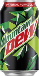 Pepsi Cola Mountain Dew 0,33L PLECH