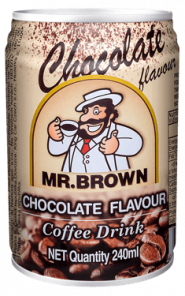 Mr.Brown chocolate 24*250ml PLECH