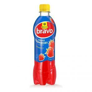 BRAVO Jahoda PET  0,5L