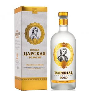 Carská Vodka Zlatá Dárková 1L
