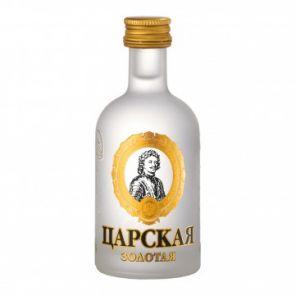 Mini Carská Vodka Zlatá 40% 0,05L