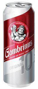 Gambrinus 10% 0,5 PLECH