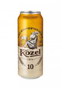 Kozel 10% 0,5L  PLECH