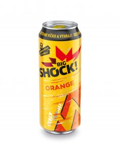 Shock Orang  500ml PLECH 24KS/BOX