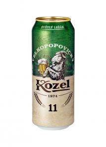 Kozel 11% 0,5L PLECH 24KS/BALENÍ
