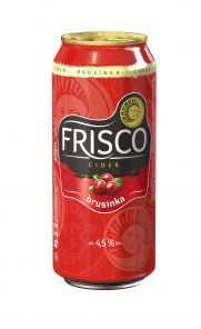 Frisco Brusinka 0,4l  PLECH