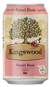 Kingswood Rosse 0,33l PLECH