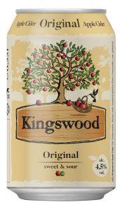Kingswood Orginial 0,33 PLECH