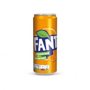 FANTA Orange 0,33L PLECH 24KS/BALEN