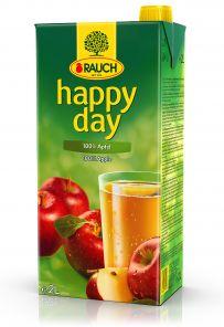 Happy Day JABLKO 100% 2L  6KS/BALEN