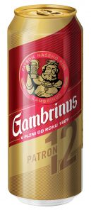 Gambrinus 12% 0,5 PLECH 24KS/BALENÍ