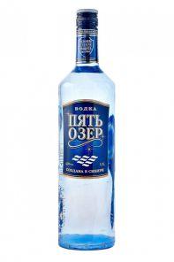 Vodka Five Lakes  40% 1L