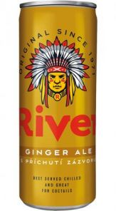 Tonic River Ginger 0,33 PLECH