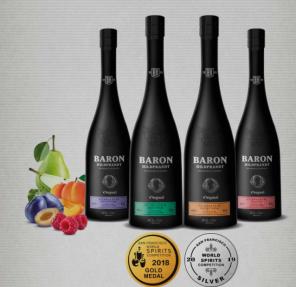 BARON Hildpr.Malina 0,7L 40%