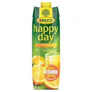 Happy Day POMERANČ 100% 1L