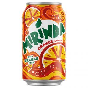Mirinda Orange 24*0,33 PLECH