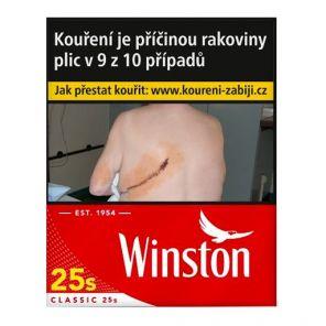 Winston Red 25s  F133