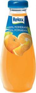 Relax 100% Pomeranč Víčko 0,25l SKL