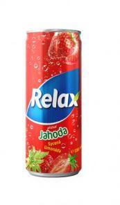 Relax Jahoda 0,33l PLECH
