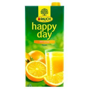 Happy Day POMERANČ 100% 2L