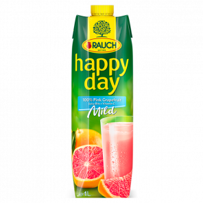 Happy Day Růžový Grep 100% 1L