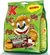 KUBÍK sušenky  KAKAO-MÁSLEM 15*100g