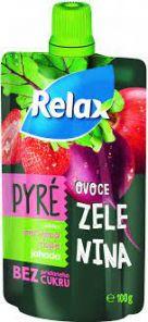 Relax Zel.Pyré Č.ŘEPA-JAHODA 12*100