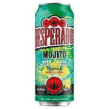 DESPERADOS MOJITO 4*0,5L PLECH