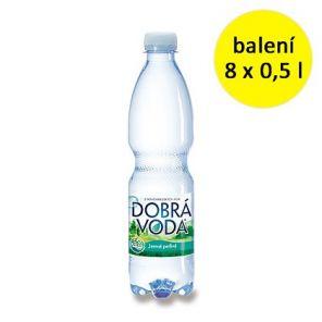 Dobrá voda Jemně Perlivá 8*0,5L