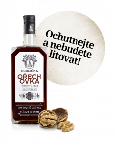 SUDLIČKA Ořechovka 30% 0,7L