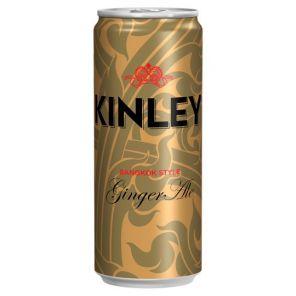Tonic Kinley Ginger 24*330ml PLECH