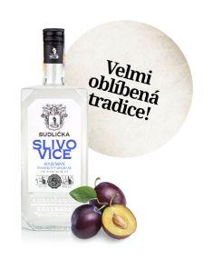 SUDLIČKA Slivovice 50% 0,7L